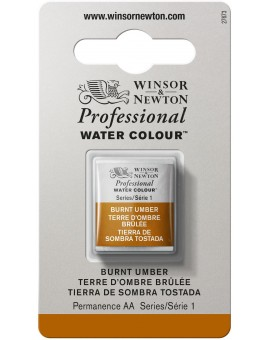 W&N Professional Water Colour - Burnt Umber (076)