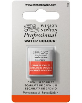 W&N Professional Water Colour - Cadmium Scarlet (106)