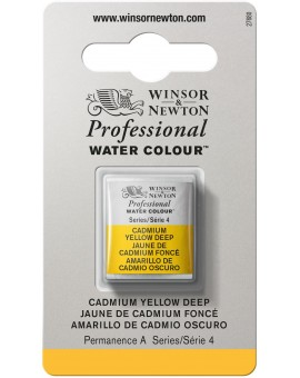W&N Professional Water Colour - Cadmium Yellow Deep (111)