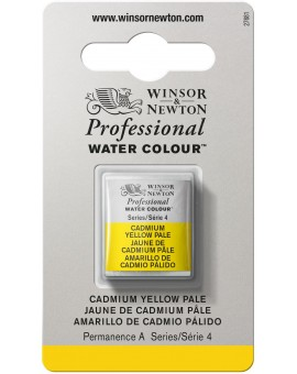 W&N Professional Water Colour - Cadmium Yellow Pale (118)