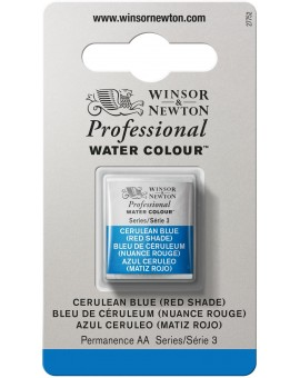 W&N Professional Water Colour - Cerulean Blue (Red Shade) (140)