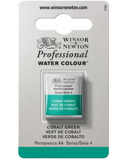 W&N Professional Water Colour - Cobalt Green 1/2 napje
