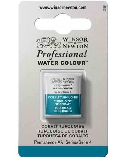 W&N Professional Water Colour - Cobalt Turquoise 1/2 napje