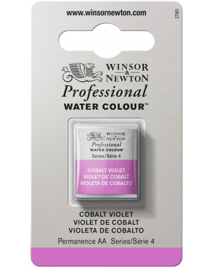 W&N Professional Water Colour - Cobalt Violet 1/2 napje