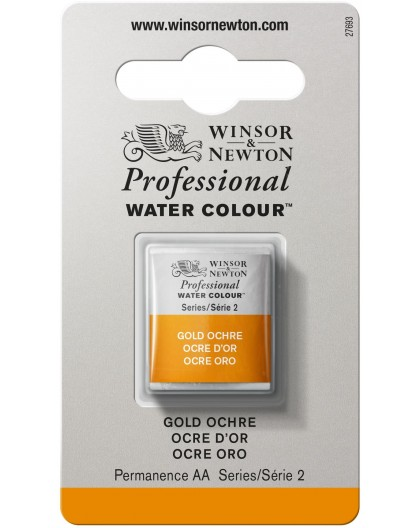 W&N Professional Water Colour - Gold Ochre 1/2 napje