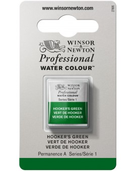 W&N Professional Water Colour - Hookers Green (311)