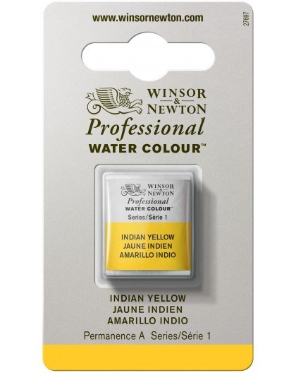 W&N Professional Water Colour - Indian Yellow 1/2 napje