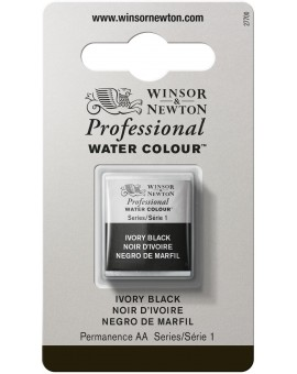 W&N Professional Water Colour - Ivory Black (331)