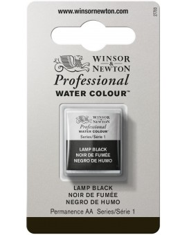 W&N Professional Water Colour - Lamp Black (337)