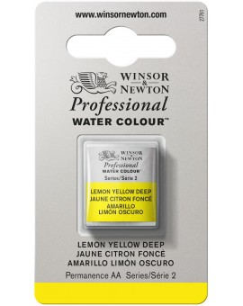 W&N Professional Water Colour - Lemon Yellow Deep (348)