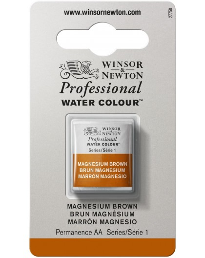 W&N Professional Water Colour - Magnesium Brown 1/2 napje