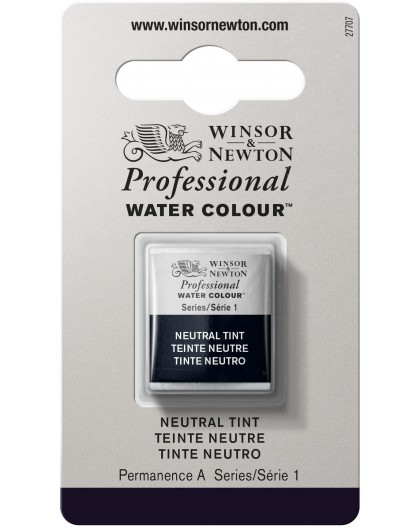 W&N Professional Water Colour - Neutral Tint 1/2 napje