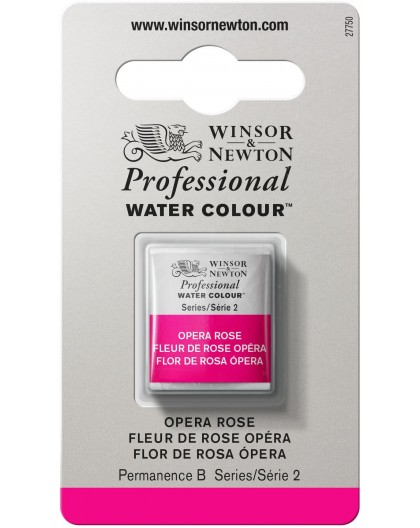 W&N Professional Water Colour - Opera Rose 1/2 napje