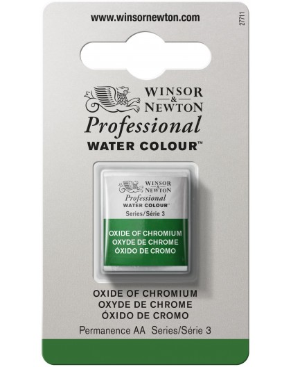 W&N Professional Water Colour - Oxide of Chromium 1/2 napje