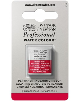 W&N Professional Water Colour - Permanent Alizarin Crimson (466)