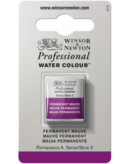 W&N Professional Water Colour - Permanent Mauve (491)