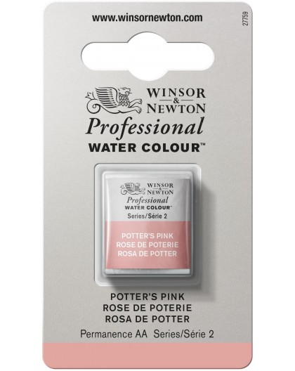 W&N Professional Water Colour - Potter's Pink 1/2 napje