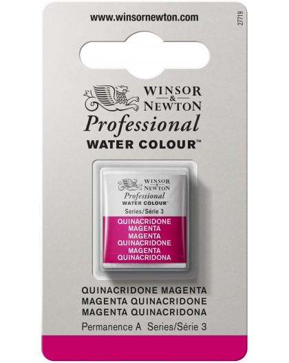 W&N Professional Water Colour - Quinacridone Magenta 1/2 napje