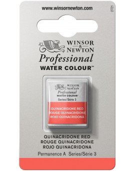 W&N Professional Water Colour - Quinacridone Red (548)