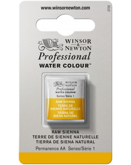W&N Professional Water Colour - Raw Sienna 1/2 napje