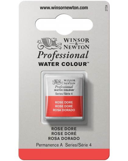 W&N Professional Water Colour - Rose Doré 1/2 napje