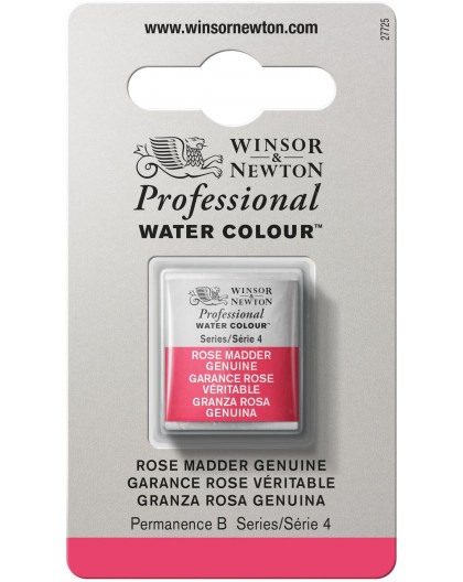W&N Professional Water Colour - Rose Madder Genuine1/2 napje