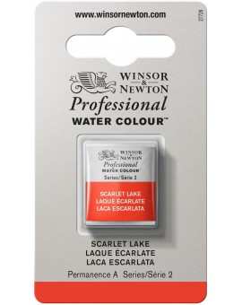W&N Professional Water Colour - Scarlet Lake (603)
