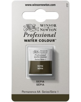 W&N Professional Water Colour - Sepia (509)