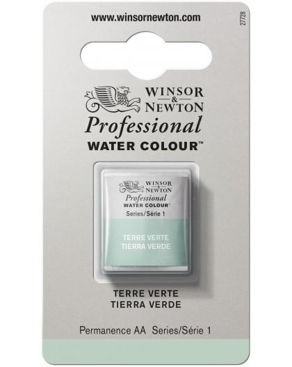 W&N Professional Water Colour - Terre Verte 1/2 napje
