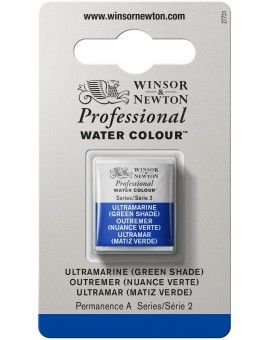 W&N Professional Water Colour - Ultramarine (Green Shade) (667)