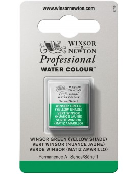 W&N Professional Water Colour - Winsor Green (Yellow Shade) (721)