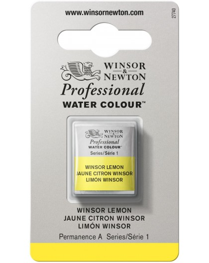 W&N Professional Water Colour - Winsor Lemon 1/2 napje