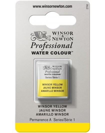 W&N Professional Water Colour - Winsor Yellow 1/2 napje