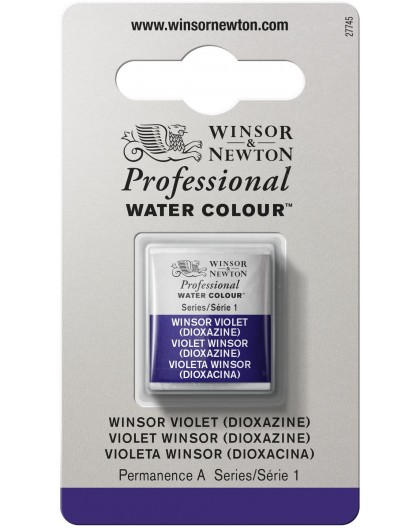W&N Professional Water Colour - Winsor Violet (Dioxazine) 1/2 napje