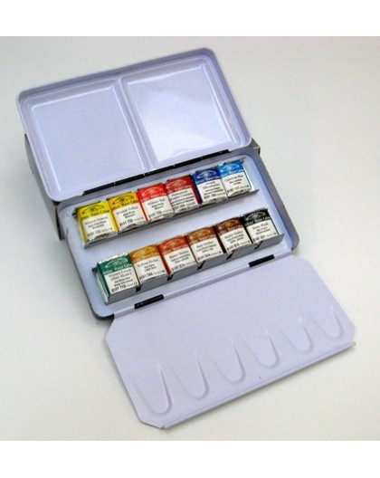 W&N 12 halve napjes - Professional Water Colour Lightweight Box