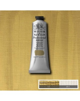 W&N Professional Acrylic - Antique Gold tube 60ml