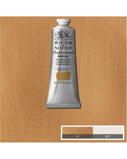 W&N Professional Acrylic - Renaissance Gold tube 60ml