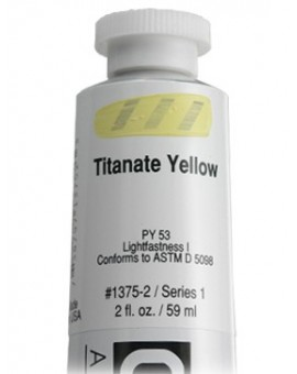 Golden Heavy Body Acrylic - Titanate Yellow #1375