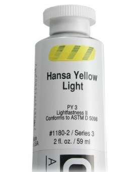 Golden Heavy Body Acrylic - Hansa Yellow Light #1180