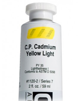 Golden Heavy Body Acrylic - C.P. Cadmium Yellow Light #1120