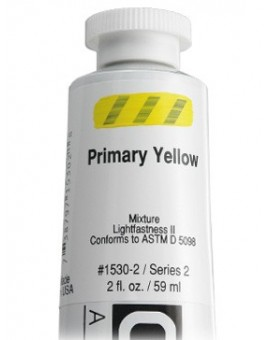 Golden Heavy Body Acrylic - Primary Yellow #1530