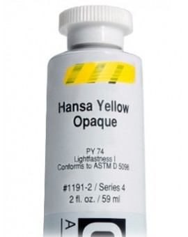 Golden Heavy Body Acrylic - Hansa Yellow Opaque #1191