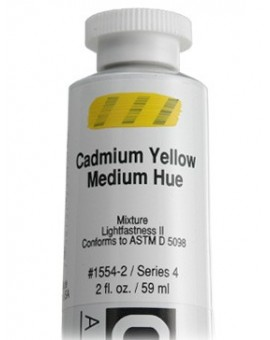 Golden Heavy Body Acrylic - Cadmium Yellow Medium Hue #1554