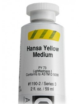 Golden Heavy Body Acrylic - Hansa Yellow Medium #1190
