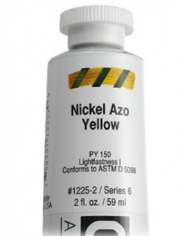 Golden Heavy Body Acrylic - Nickel Azo Yellow #1225