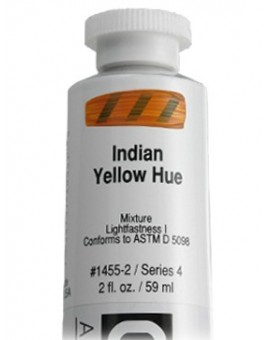 Golden Heavy Body Acrylic - Indian Yellow Hue #1455
