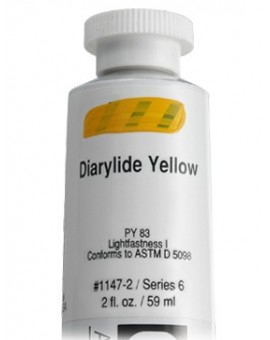 Golden Heavy Body Acrylic - Diarylide Yellow #1147