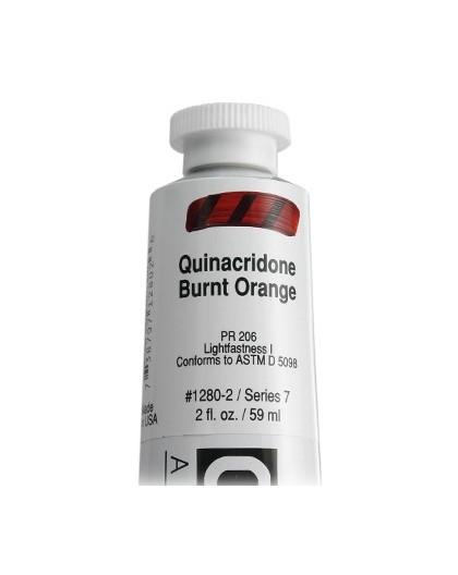 Golden Heavy Body Acrylic - Quinacridone Burnt Orange #1280