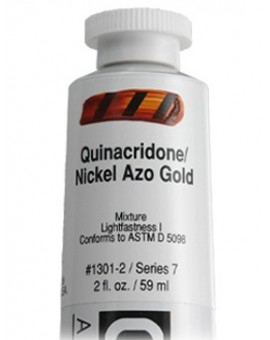 Golden Heavy Body Acrylic - Quinacridone / Nickel Azo Gold #1301