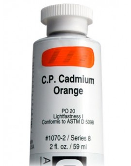 Golden Heavy Body Acrylic - C.P. Cadmium Orange #1070